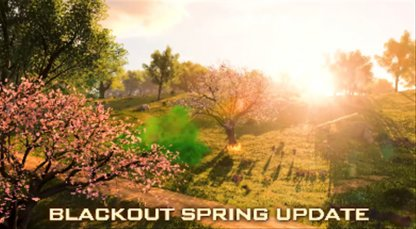 Spring Map Update Arrives on PC