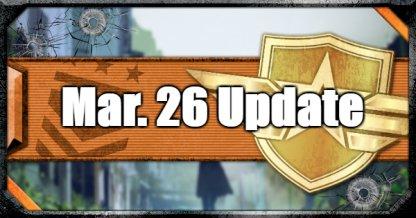 Mar 26 Update