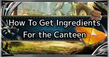 How To Get Ingredients & Upgrade Canteen