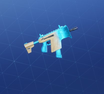 TIDAL WAVE Wrap - Submachine Gun