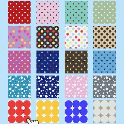 Polka-dot print
