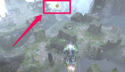 Anthem Follow Marker To Reach Search Area