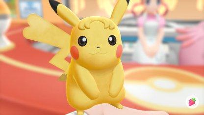 Pikachu Curly Bangs