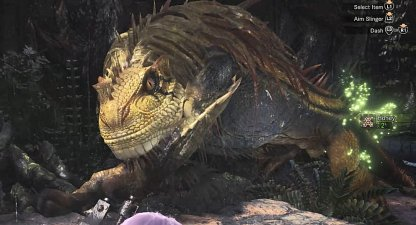 Great Jagras - Basic Monster Information