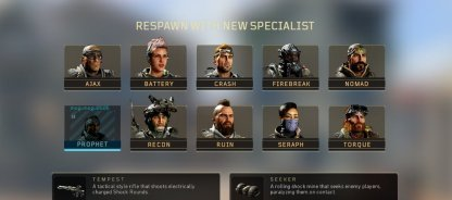 Specialist Changes