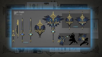 Craft Black Eagle Charge Blade Weapon Design Contest Winner