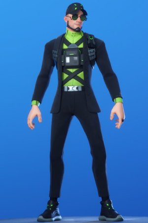 Fortnite | DEADLOCK Skin - Set & Styles - 300 x 450 jpeg 15kB