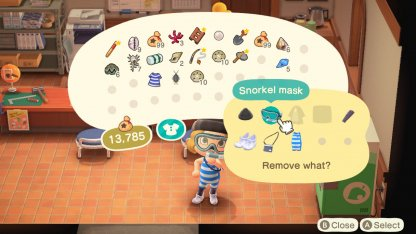Snorkel Mask Remove