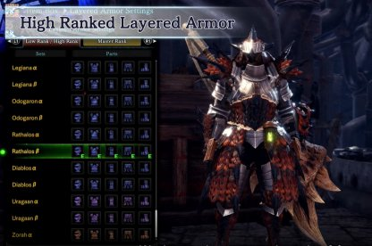 Craft Layered Armor From High Rank!