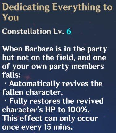 Barbara Constellation