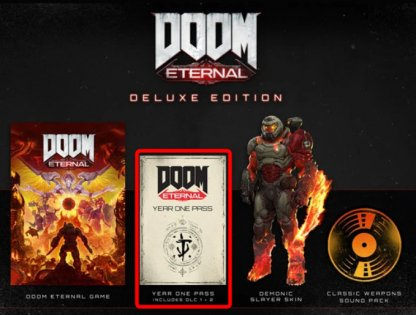 Year One Pass In Deluxe, Collector's Edition