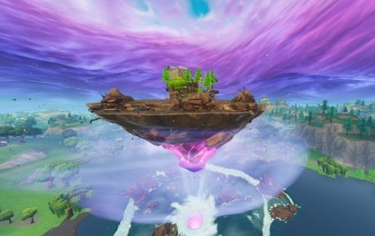 Fortnite - One-Time Cube Event - Floating Island