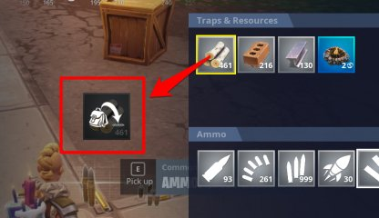 Dropping or Sharing Items via mouse