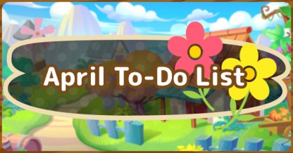 April To Do