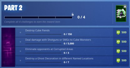 Fortnite Fortnitemares Challenges List & Guide