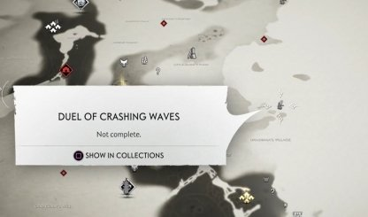 Duel Of Crashing Waves Map Location