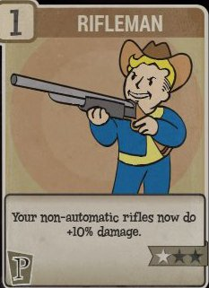 Rifleman Perk Card