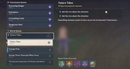 Tatara Tales (Day 1) Guide & Rewards