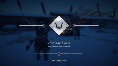 Receive Adachi Half Mask