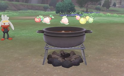 Cook Curry To Heal Pokemon