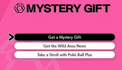 Choose Get A Mystery Gift