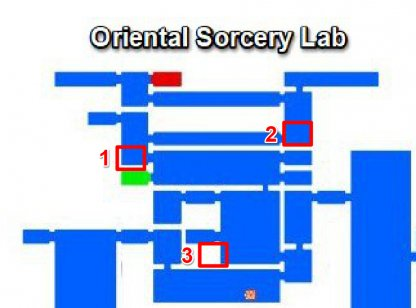 Oriental Sorcery Lab - Breakable Walls & Secret Rooms