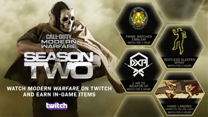 COD Season 2 Twitch Drops