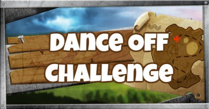 Abandoned Mansion Dance Off Challenge