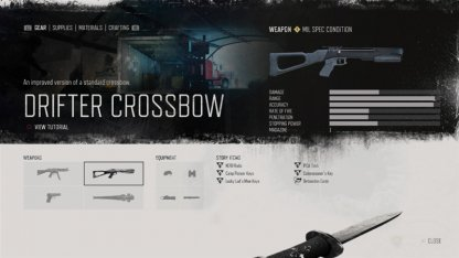 Crossbow / Drifter Crossbow (Special)