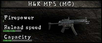 HK MP5 MG