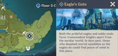 Eagle's Gate - Location