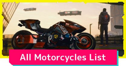 Motorcycles List