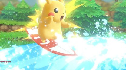 Pikachu Partner Move Splishy Splash