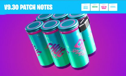 Drink Up in the v9.30 Patch Update