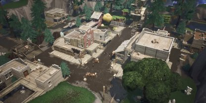 New Area: Tilted Town