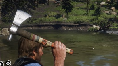 Red Dead Redemption 2 Unique Weapons Ancient Tomahawk