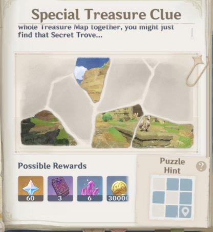 Unlock Map Fragments