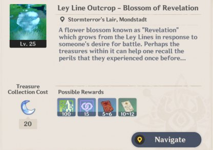 Farm Character EXP Materials From Blossoms Of Revelations