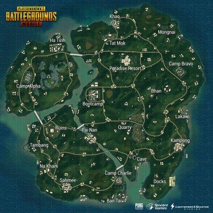 Pubg Mobile Sanhok Map Information