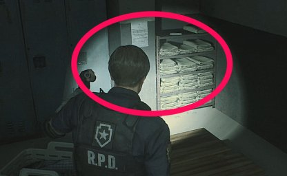 Resident Evil 2 Leon Portable Locker