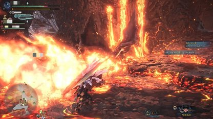 Fire Breath Has Longer Range Than Regular Teostra