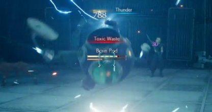 Equip Lightning Materia Before The Combat