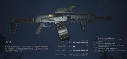 Fully Upgraded SYG-12