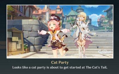 Ending 1: Cat Party