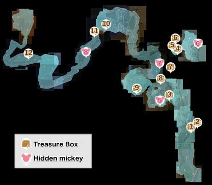 Kingdom Hearts 3 All Treasure Chests Mount Olympus