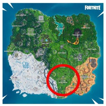 Map Location - Fatal Fields