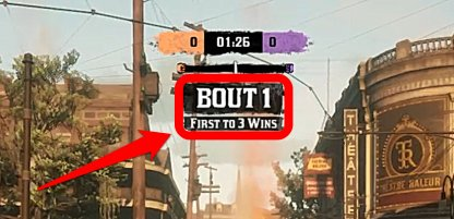 First To 3 Bouts Wins The Match