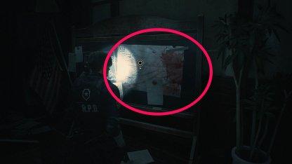 Resident Evil 2 Demo 1F Map
