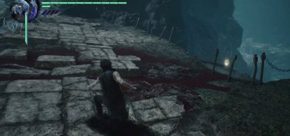 Devil May Cry 5 Gold Orb Mission 9 Location Edge Of Bridge With Death Scissors