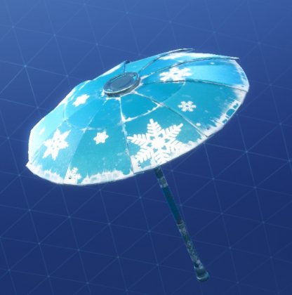 Fortnite SNOWFLAKE Umbrella